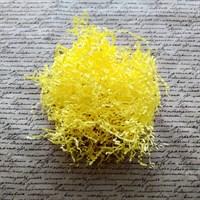 Бумажный наполнитель желтый 50г