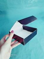"""подарочная коробка """"премиум"""" 110х110х35мм черная"""