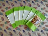 Дой пак с застежкой: 110х185мм, зеленый
