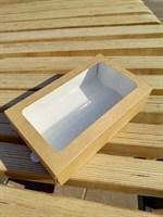 Коробка-пенал с окном 180х110х55мм