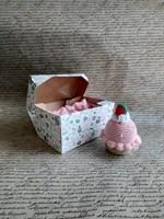"""Самосборная коробка """"Десерт"""" 150х100х85мм"""