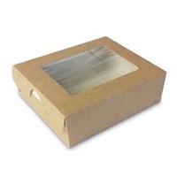 Коробка-пенал с окном - 100х80х30мм